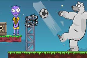 北极熊让足球飞无敌版