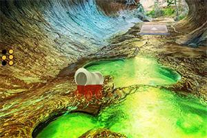 逃离水洞穴