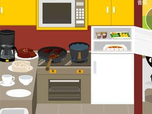 给客人做饭