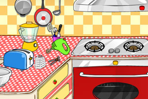 露娜开放式厨房