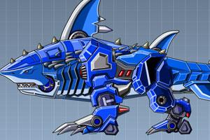 组装机械鲨鱼